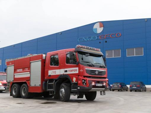 productie video si foto simulare incendiu CNUD